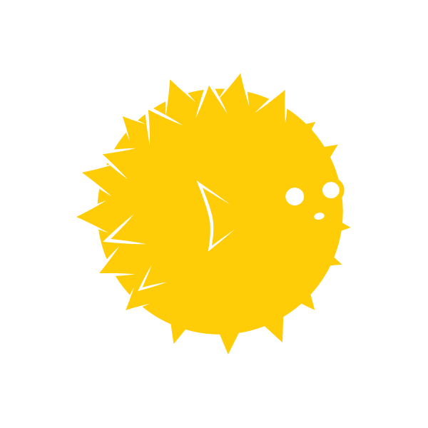 Puffer Fish_Yellow